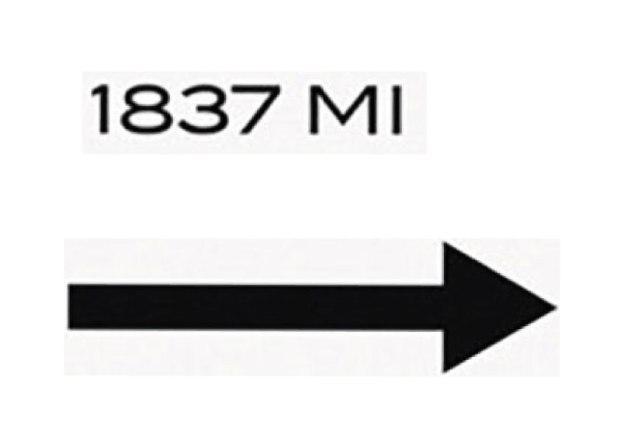 1837 et flèche à imprimé du tableau prada