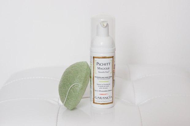 éponge konjac erborain nettoyant visage garancia